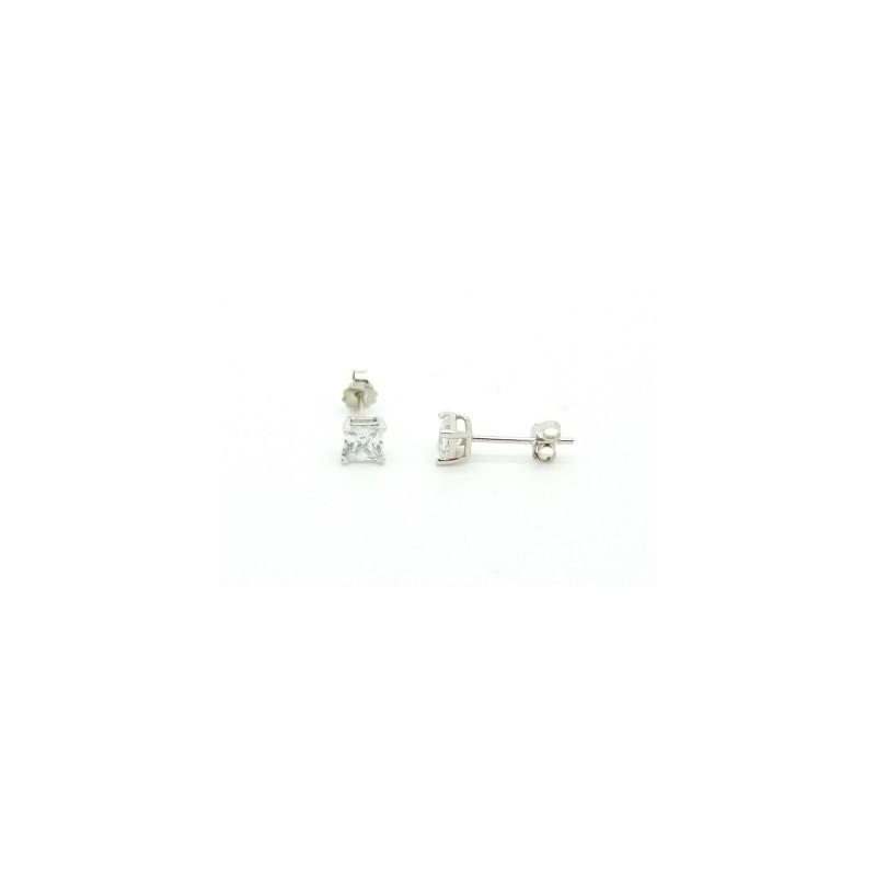 Swarovski kristályos fülbevaló 6mm