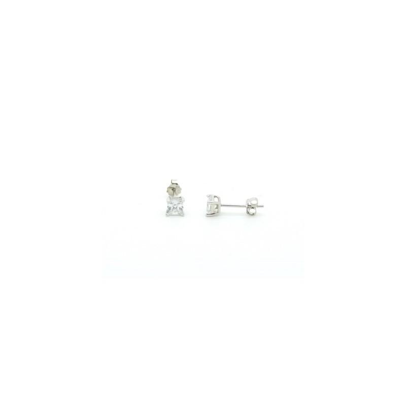 Swarovski kristályos fülbevaló 4mm
