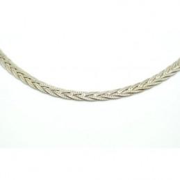 Fonott ezüst nyaklánc 558as