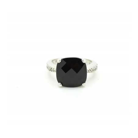 Ezüst gyűrű csiszolt kővel 581as