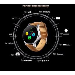 K88 SmartWatch - Okosóra Android és iPhone telefonokhoz 320oc