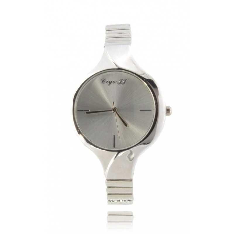 Ezüst színű divatos női karóra. 367oc