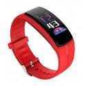 Bluetooth okosóra, pulzusmérővel. Piros. 402oc