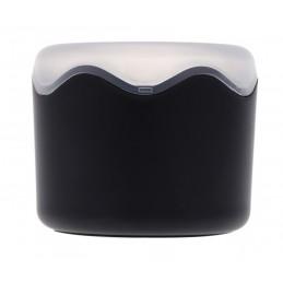 Műanyag óradoboz, fekete párnával 000705-4oc