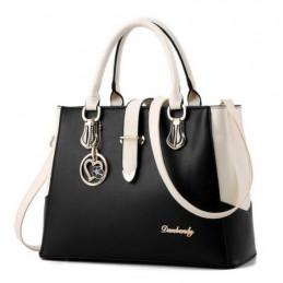 Fekete- fehér divatos női táska