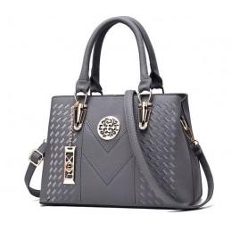 Szürke divatos női táska