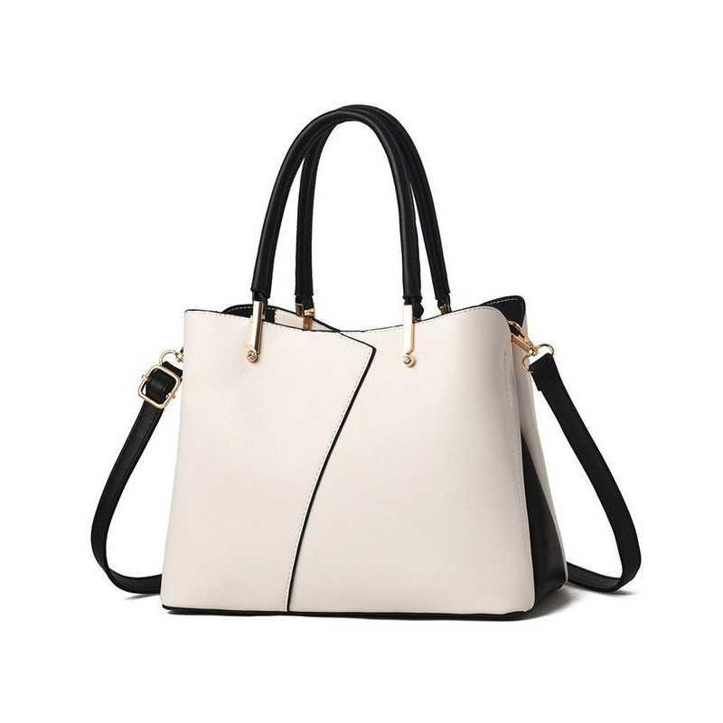 Divatos, törtfehér női táska. 5030oc