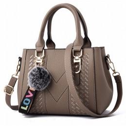 Keki színű, varrott mintás női táska, kistáska. 5028-5oc