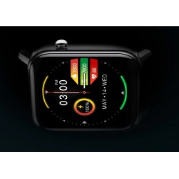 Kospet GTO fekete színű, pulzusmérős okosóra, 491oc
