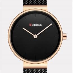 Curren C9016L fekete, óarany színű női karóra. 493oc