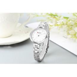 Curren C9054L ezüst színű női karóra, fehér számlappal. 495-3oc