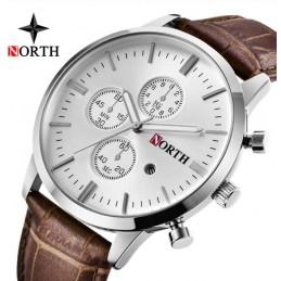 North N-6008 barna férfi karóra. 505oc