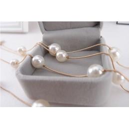 Kétsoros gyöngy nyaklánc. 00140ec