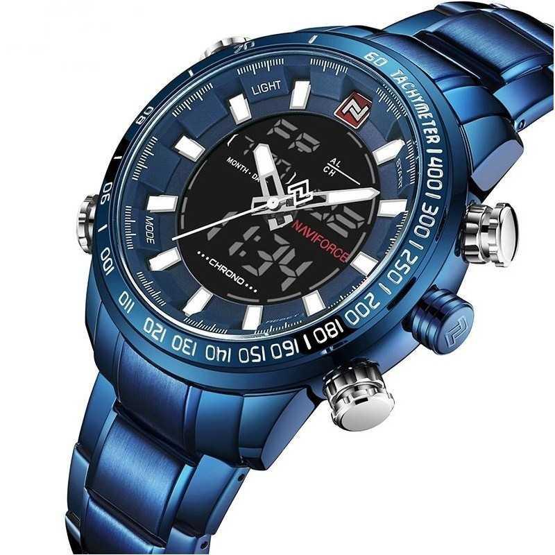Naviforce NF9093M kék, férfi karóra. 467oc