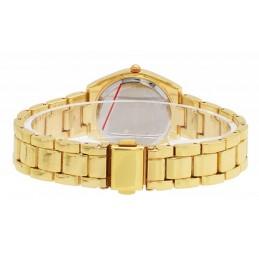 Arany színű női karóra, arany színű számlappal. 507-3oc