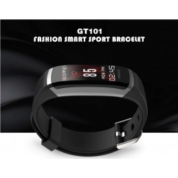 Bluetooth okosóra, pulzusmérővel. Fekete. 440-1oc