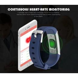 Bluetooth okosóra, pulzusmérővel. Kék. 440-2oc