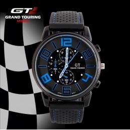 GT sportos férfi karóra kék számokkal. 62oc